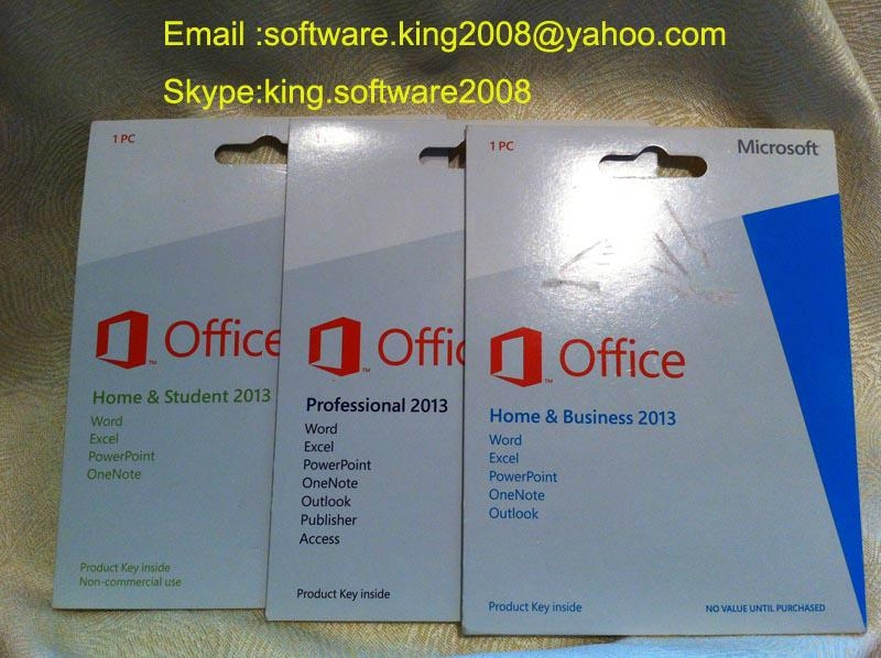 office 2013 home business retail