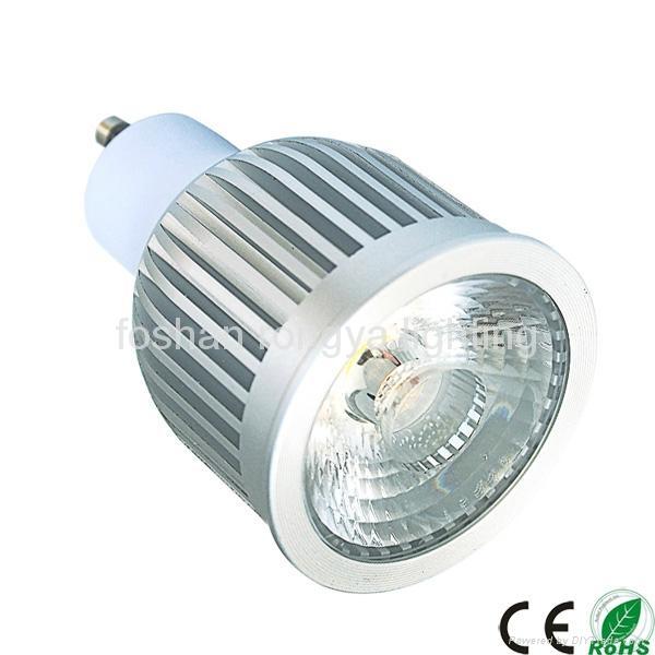 Sharp Cob 6w Gu10 5w Led Spot Light