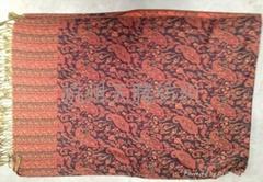 人造棉高檔圍巾披肩