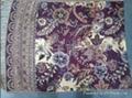 涤纶提花围巾