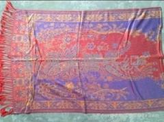 人造棉高档围巾披肩3