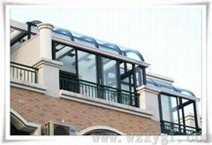 别墅阳光房厂家 玻璃阳光房制作 铝合金阳光房价格