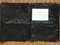 DM-7-31-1-8 Roll Black Garbage Bags DM-7-31-1-8