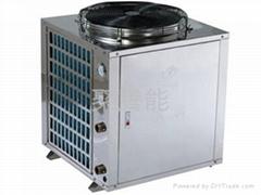 聚腾空气能热泵节能商用热水器机组7p匹