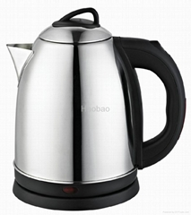 Stainless steel electric kettle HB1518G-(18G)