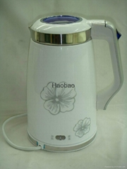 Stainless steel electric kettle HB1018G(BW18I)