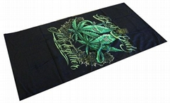 100% Cotton Promotional Printed Beach Towel