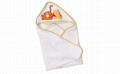 Pure Cotton Baby Hooded Towel 1