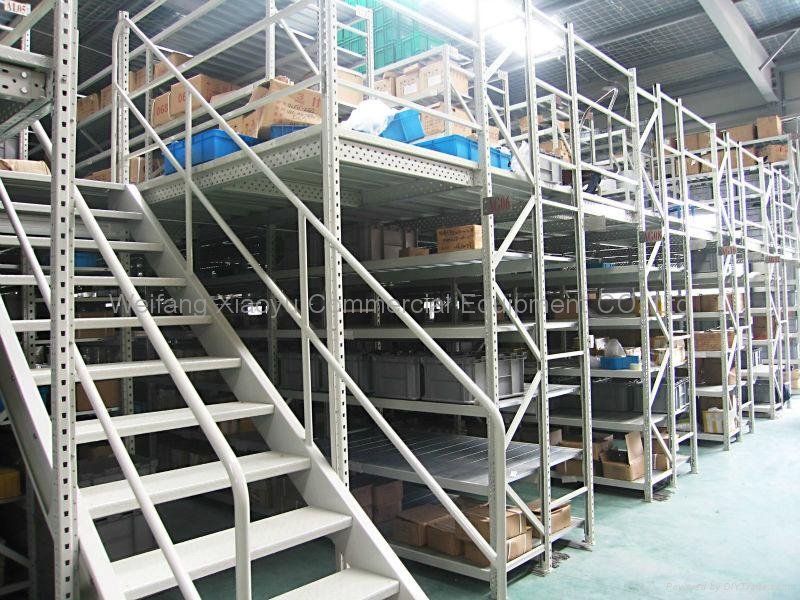 Mezzanine Platform System : Storage mezzanine rack system platform xiaoyu