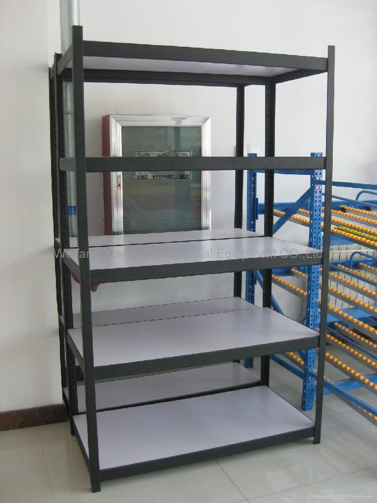 Storage Iron Rack Angle Shelving Light Duty Racking System