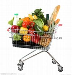 folding shopping trolley  4 wheel shopping cart children shopping trolley