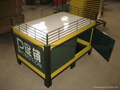 Supermarket promotion display table