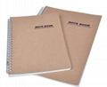 Kraft Spiral Bound Notebook 1