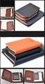 sprial bound notebook with zip