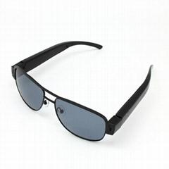 720P HD Camera Eyewear Black Sunglasses Video Recorder Support Max 32GB TF Card