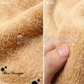 Soft Polyester Microfiber Plain Coral Fleece Throw Blanket 3