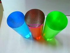 有机玻璃彩色透明棒材