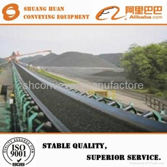 Large Capacity Vibrating Screen Plant PVC and Rubber Belt Conveyor  for Sand