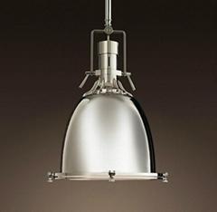 Manufacturer's industrial pendant lamp industrial lamp vintage