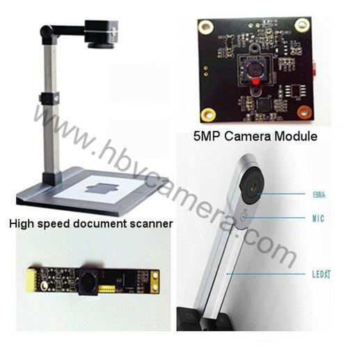 5M AF High speed document scanner Free drive CMOS camera module 2
