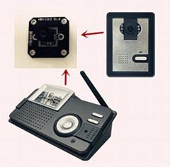 0.3MP HD Intelligent video intercom doorbell Camera module