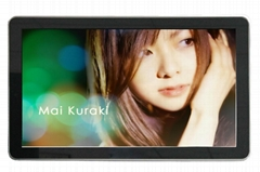 42inch wall mount advertisement display with VGA output and resolution 1080P