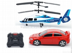 2 IN 1 Group,R/C Helicopter Set,RC Toys