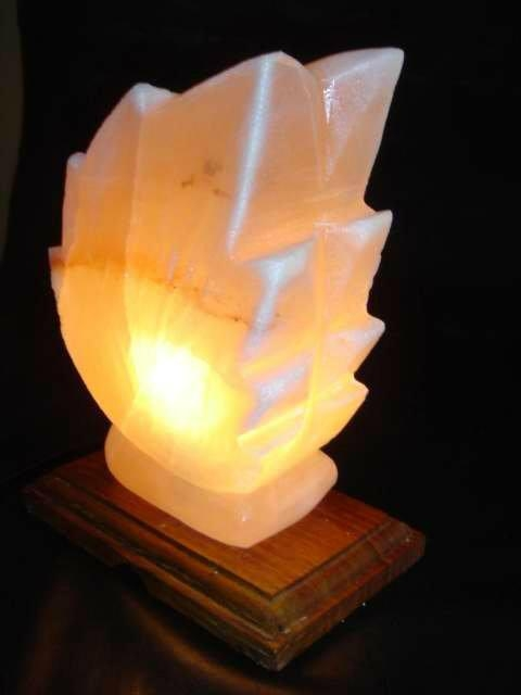 Salt made Lamps 4
