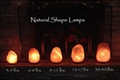 Salt made Lamps 5