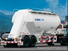 bulk cement tank truck