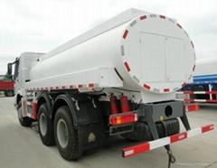 CIMC HUAJUN 4 axle cement tank truck trailer