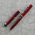 【廠家直銷】多功能激光電容觸摸筆 4in1電容筆 觸控手寫筆 4
