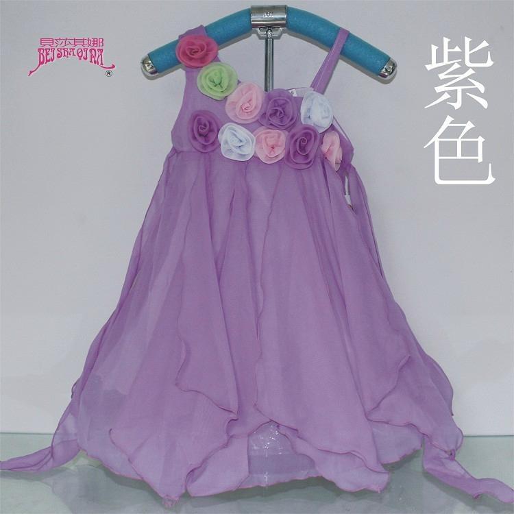 時尚女童雪紡儿童連衣裙 2