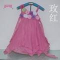 時尚女童雪紡儿童連衣裙 3