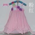 時尚女童雪紡儿童連衣裙 5