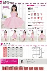 2013韓版熱銷女童紅色可愛連衣裙