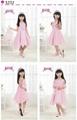 2013韓版熱銷女童紅色可愛連衣裙 3