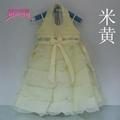 女童婚紗公主裙雪紡白色儿童連衣裙 4