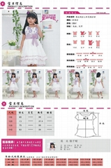 Lace tunic, children's wear dress wedding dresses of the girls