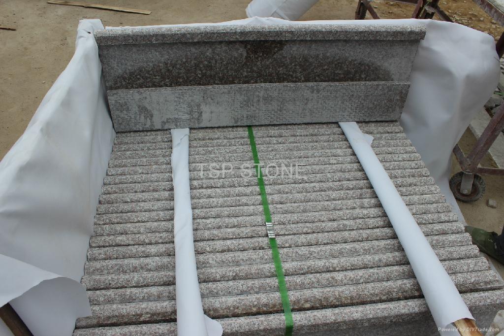 G664 granite staircase 3