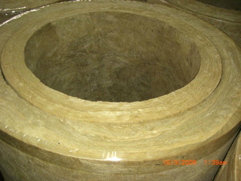 Rock wool pipe hong kong trading company heat for Mineral fiber pipe insulation