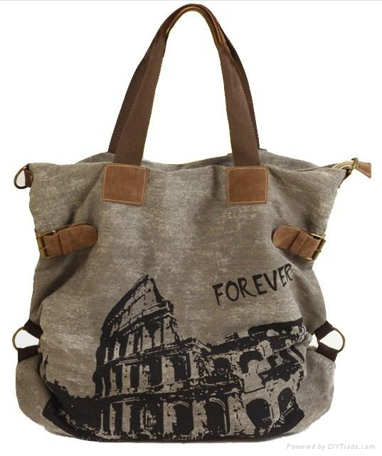 handle tote bag made of heavy canvas - xh-13-00524 - Shining (China ... fd87407c1
