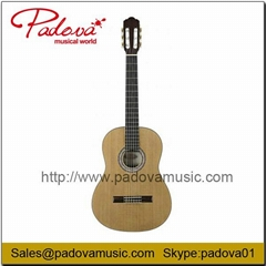 China Solid Spruce Classical Electric Guitar