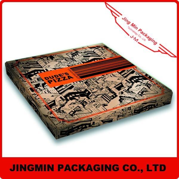 Corrugated board pizza boxes 1