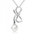 Freshwater gaultheria S925 silver