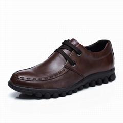 自由漫步秋款欧美真皮女鞋