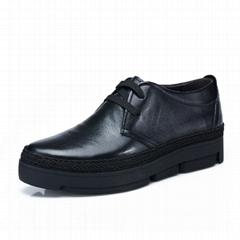 真皮工装靴