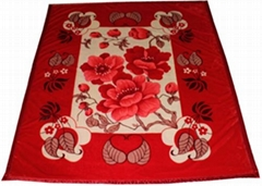 Raschel Fleece Blanket