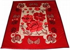Raschel Fleece Blanket