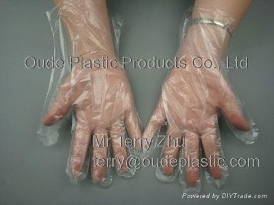 Disposable PE Gloves (LDPE Gloves)  1